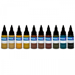 Set complet Earth Tones - 10 encres (30ml)